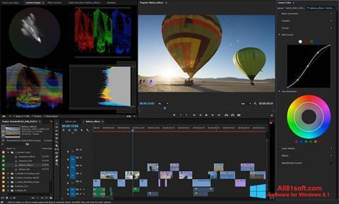 Posnetek zaslona Adobe Premiere Pro Windows 8.1